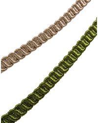Cruciani - Green Bracelet for Men - Lyst