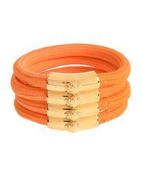 Versace - Orange Bracelet - Lyst