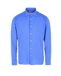 Missoni - Blue Shirt for Men - Lyst