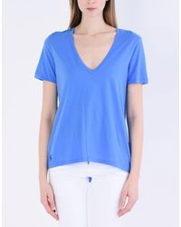 Polo Ralph Lauren - Blue T-shirt - Lyst