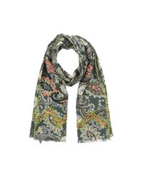 Altea - Green Oblong Scarf for Men - Lyst