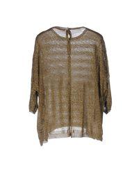 Schumacher - Metallic Sweater - Lyst