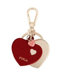 Furla - Red Key Ring - Lyst