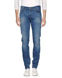 Levi's Blue Denim Trousers for men