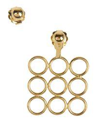 Smith/grey - Metallic Earrings - Lyst