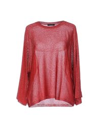 Roberto Collina - Red Sweater - Lyst