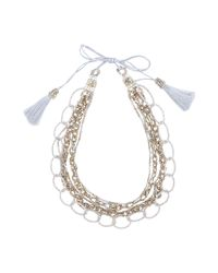 NIGHTMARKET.IT - Natural Necklace - Lyst