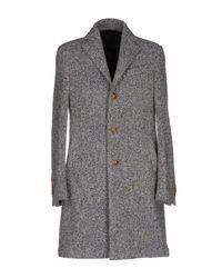 Lardini - Gray Coat - Lyst
