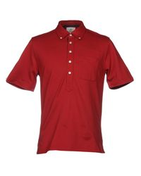 Black Fleece By Brooks Brothers - Red Polo Shirt for Men - Lyst