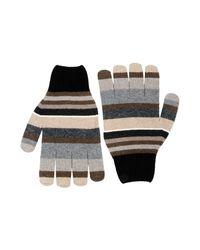 Gallo - Gray Gloves for Men - Lyst