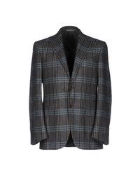 Canali - Gray Blazer for Men - Lyst