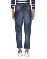Low Brand - Blue Denim Trousers for Men - Lyst