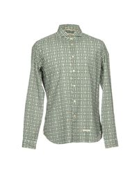 Tintoria Mattei 954 - Green Shirt for Men - Lyst