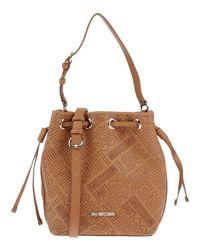 Love Moschino - Brown Handbag - Lyst