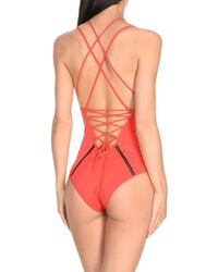 Jonathan Simkhai - Red One-piece Swimsuit - Lyst
