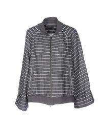 Oska - Gray Jacket - Lyst