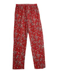 Emporio Armani | Red Sleepwear for Men | Lyst