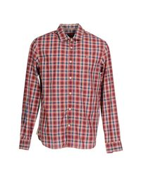 Napapijri - Red Shirt for Men - Lyst