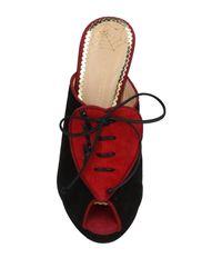 Charlotte Olympia - Black Sandals - Lyst
