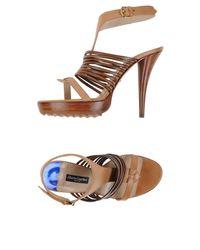 Alberto Guardiani - Natural Sandals - Lyst