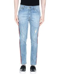 Imperial - Blue Denim Trousers for Men - Lyst