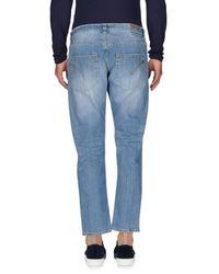 Dondup   Blue Denim Trousers for Men   Lyst
