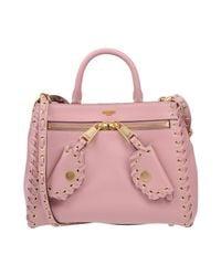 Moschino - Pink Cross-body Bag - Lyst