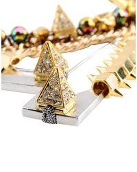Assad Mounser - Metallic Necklace - Lyst