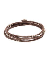 M. Cohen - Brown Bracelet - Lyst