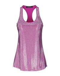 Fisico - Purple Vest - Lyst