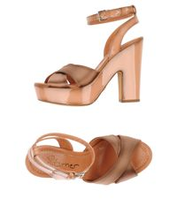 Eva Turner - Natural Sandals - Lyst
