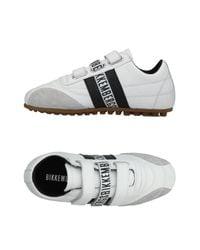 Bikkembergs White Low-tops & Sneakers