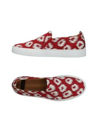 Raparo Red Low-tops & Sneakers