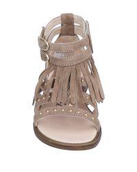 Liu Jo - Gray Sandals - Lyst
