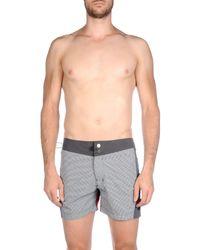 Rrd - Gray Swimming Trunks for Men - Lyst