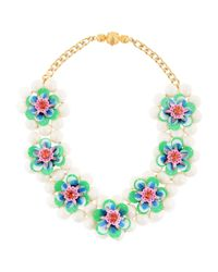 Shourouk - White Necklace - Lyst