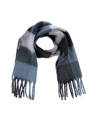Vero Moda - Blue Oblong Scarf - Lyst