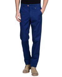 Oliver Spencer - Blue Casual Trouser for Men - Lyst