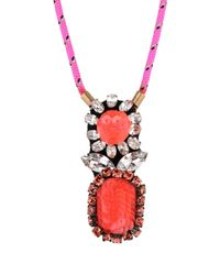 Shourouk - Multicolor Necklace - Lyst