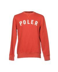 Poler - Red Sweatshirt for Men - Lyst