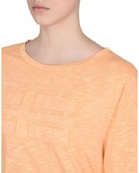 Napapijri - Orange T-shirt - Lyst