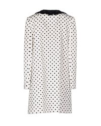 Dolce & Gabbana - White Coat - Lyst