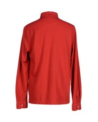 Della Ciana - Red Shirt for Men - Lyst