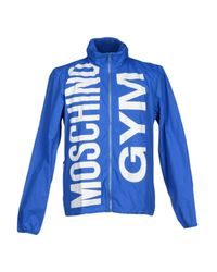 Moschino - Blue Jacket for Men - Lyst