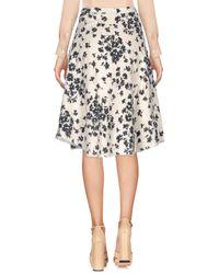Dorothee Schumacher - White Knee Length Skirt - Lyst