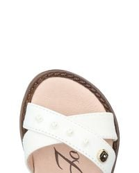 Liu Jo - White Sandals - Lyst