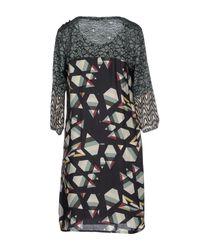 Beatrice B. - Natural Short Dress - Lyst