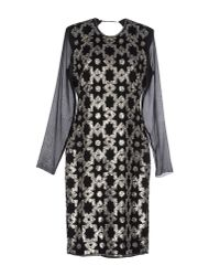 By Malene Birger - Black Knee-length Dress - Lyst
