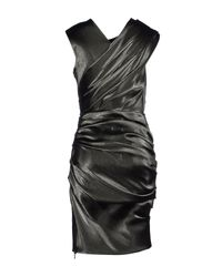 Lanvin - Gray Knee-length Dress - Lyst
