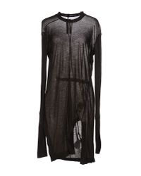 DRKSHDW by Rick Owens - Black Short Dress - Lyst